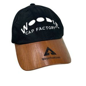 Weyerhaeuser Wood Bill Cap Hat Woodie Cap Factory